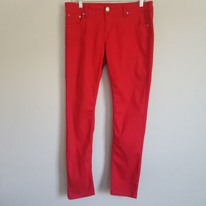 Almost Famous Red Skinny Pants size 13